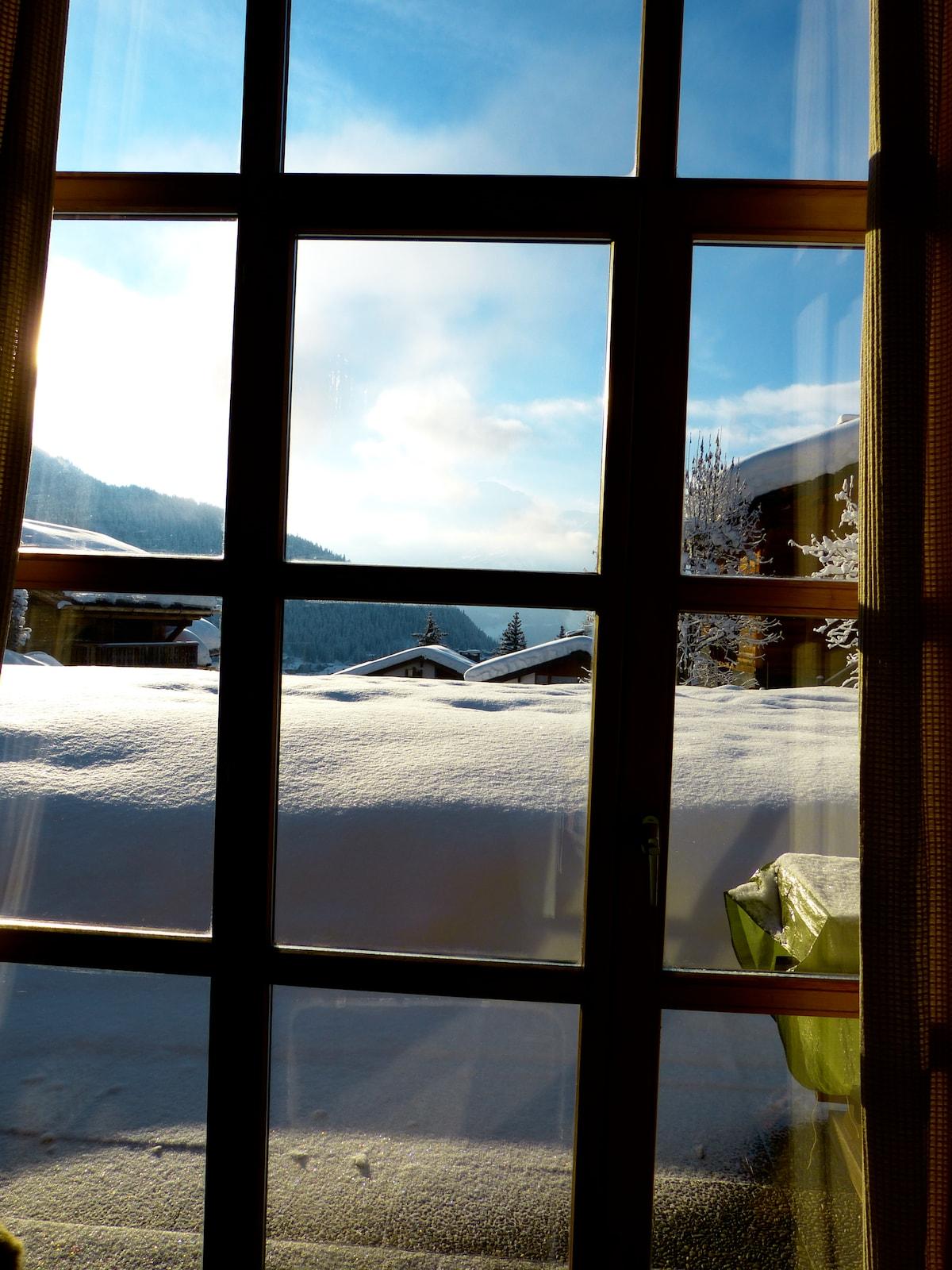 Room in modern luxury apart Verbier