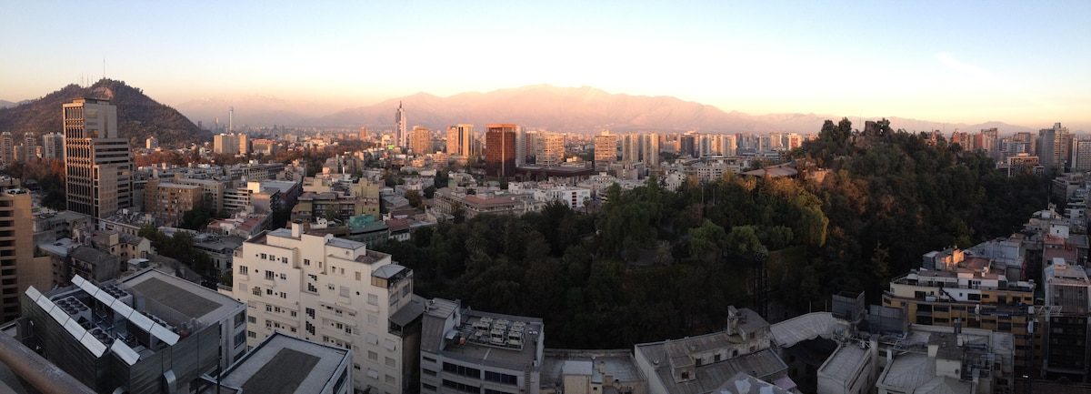 Panorama from the roof of the Building