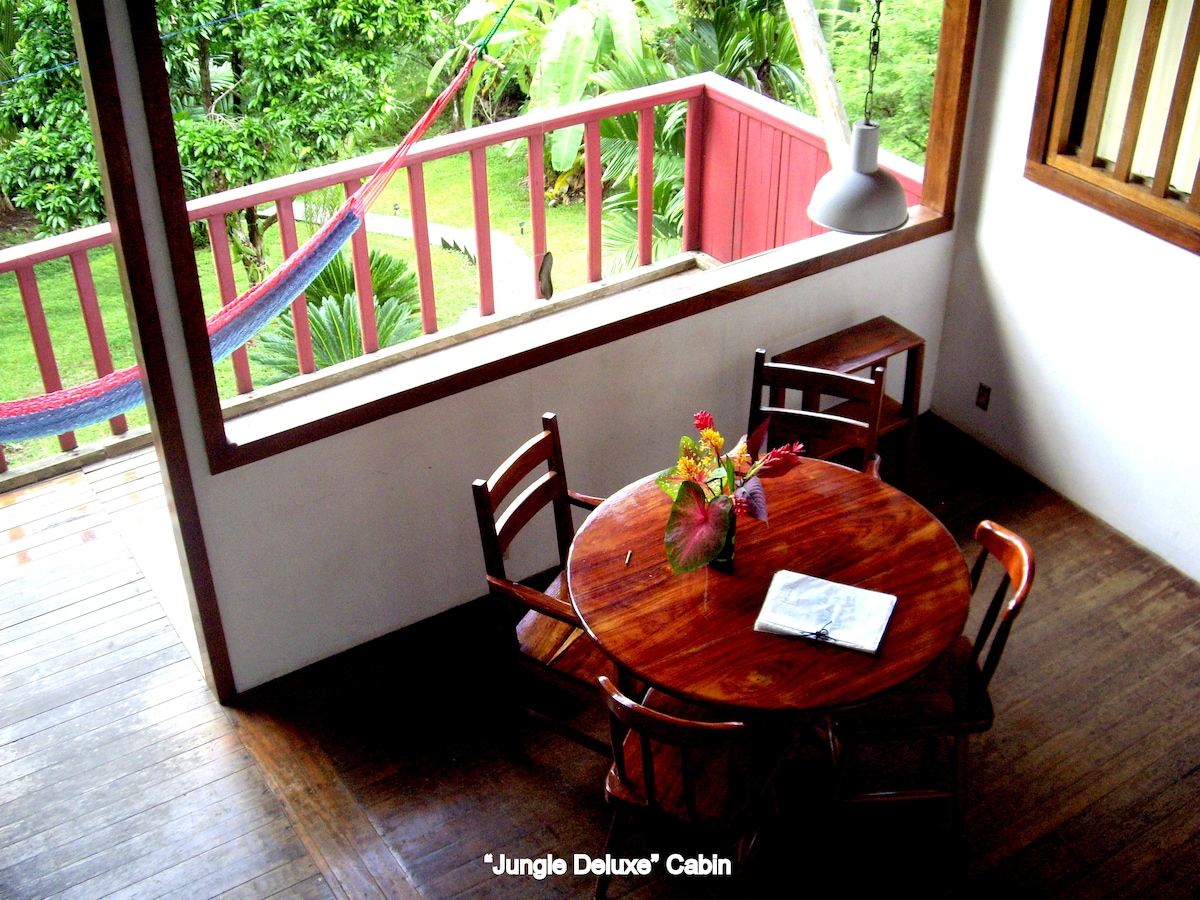 Jungle Cabin, Mira Olas Pavones