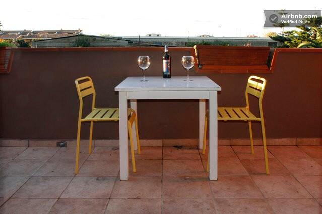 A nice Terrace where to enjoy a glass of wine