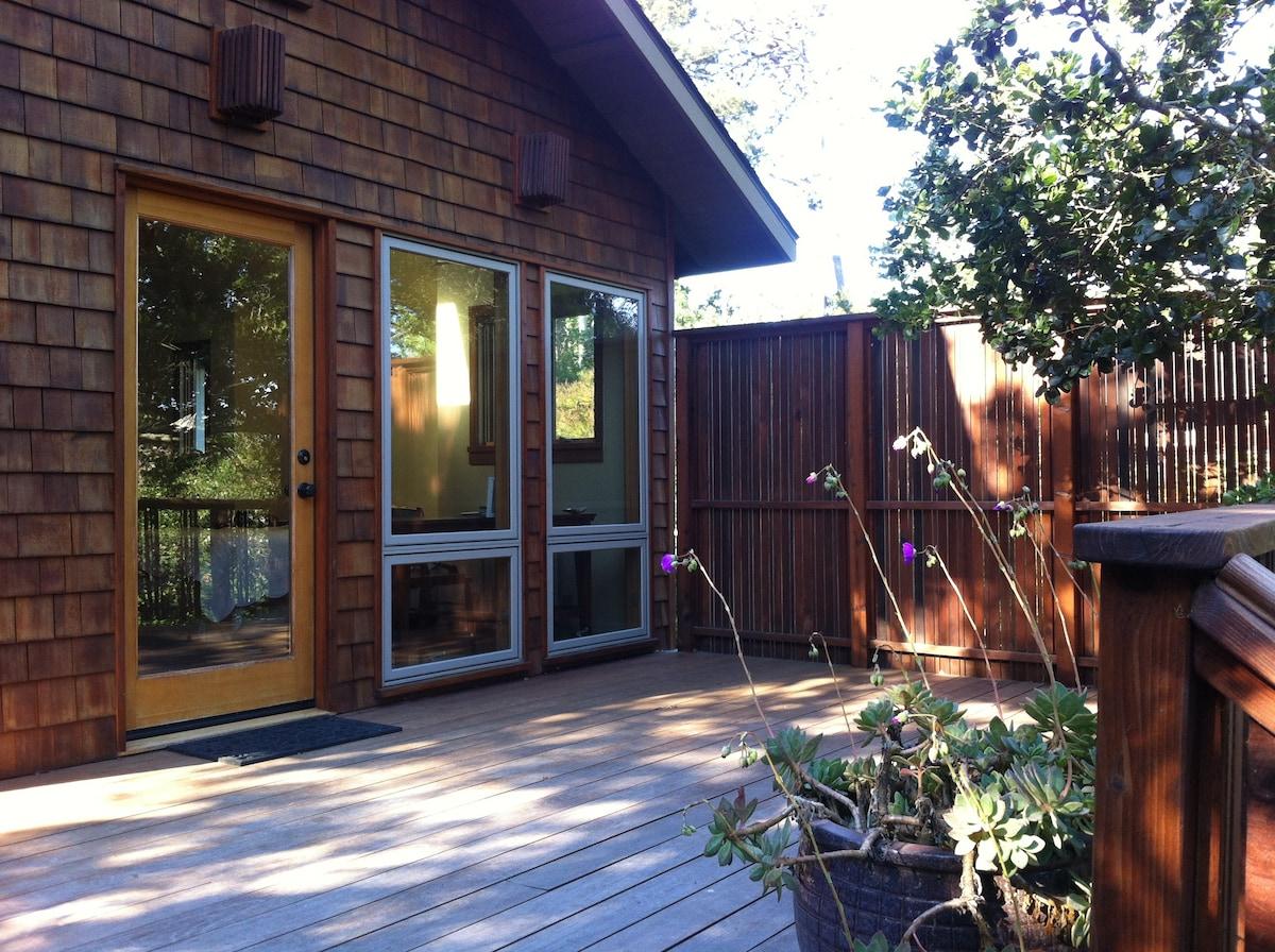 Peaceful, private garden suite.