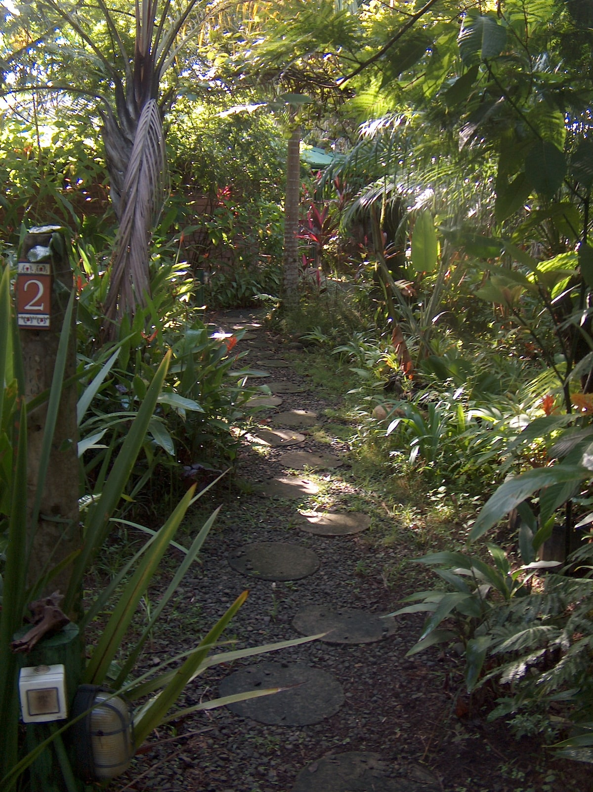 3 . . LANDSCAPE PATH TO CHALET-NORTH