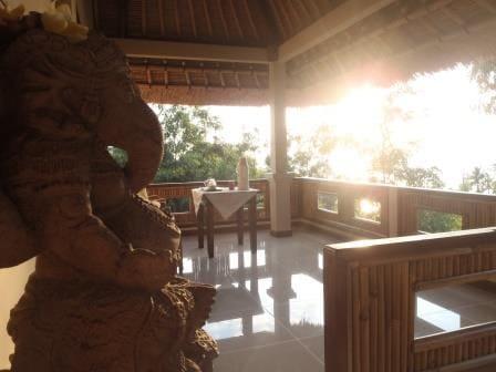 Large balcony to enjoy the sunrise with breakfast