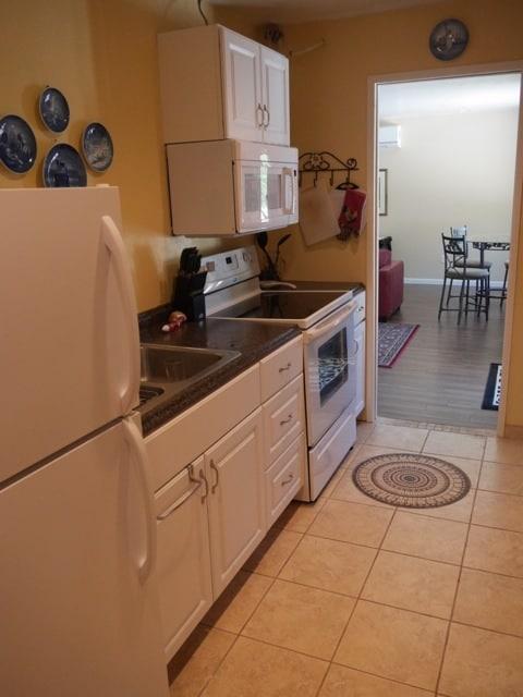 full- size galley kitchen