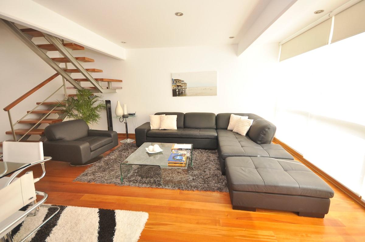 A Duplex apartment in Miraflores