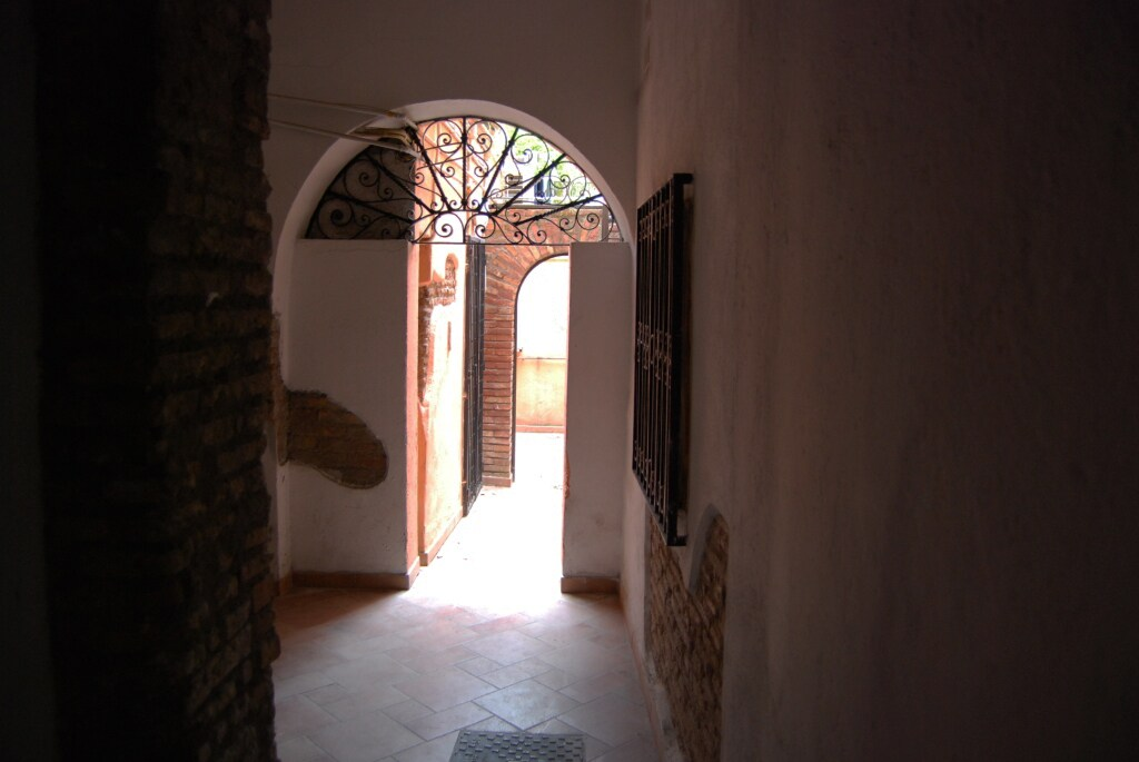 entrance building inside view