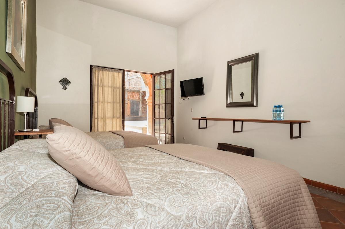 Hermosa habitación a solo 12 minutos caminado al centro de San Miguel