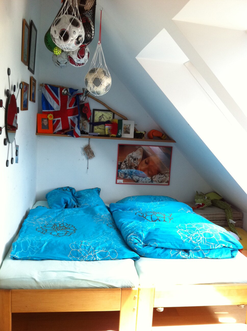 your doublebed in your room