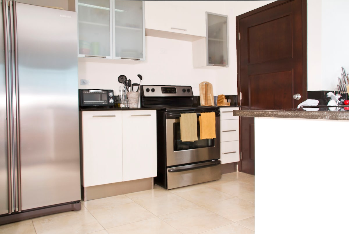 Fully Equipped Kitchen you can use to cook wonders