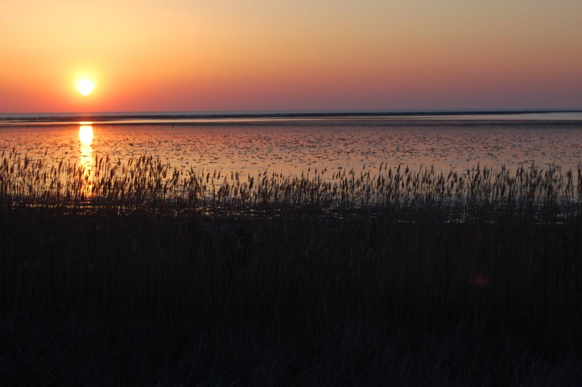 sunrise on the Delaware Bay...never 2 the same....