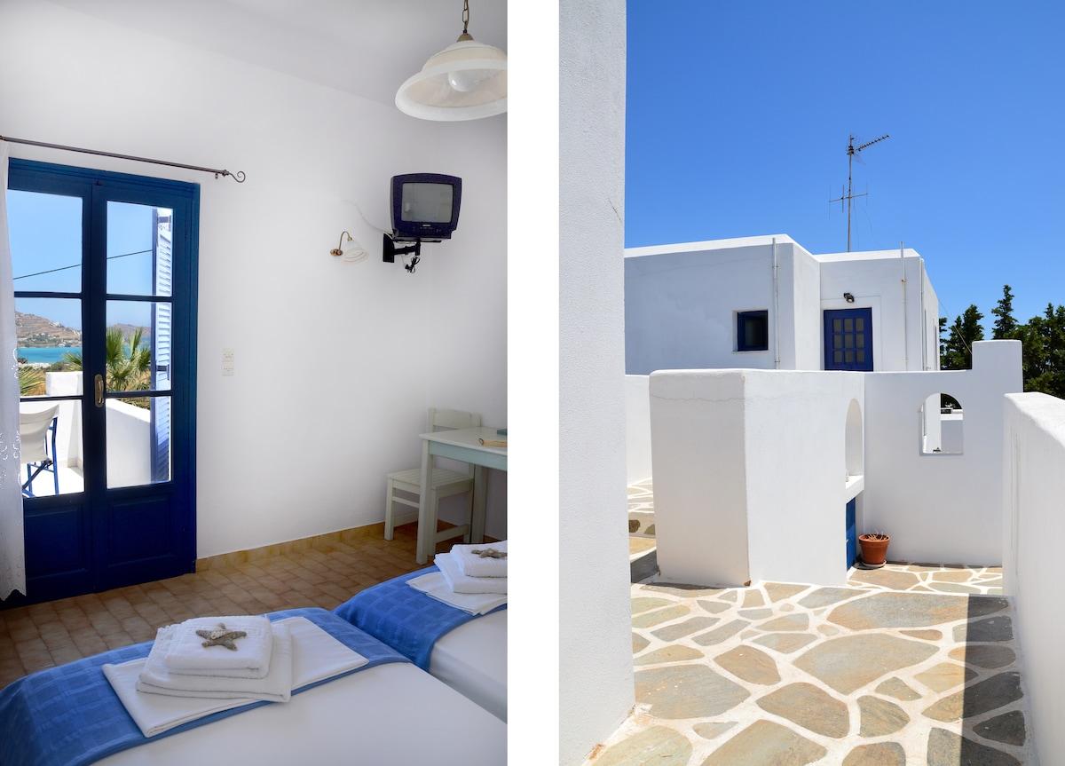 Interior/Exterior @ Dreams Apartment with Sea View Paros
