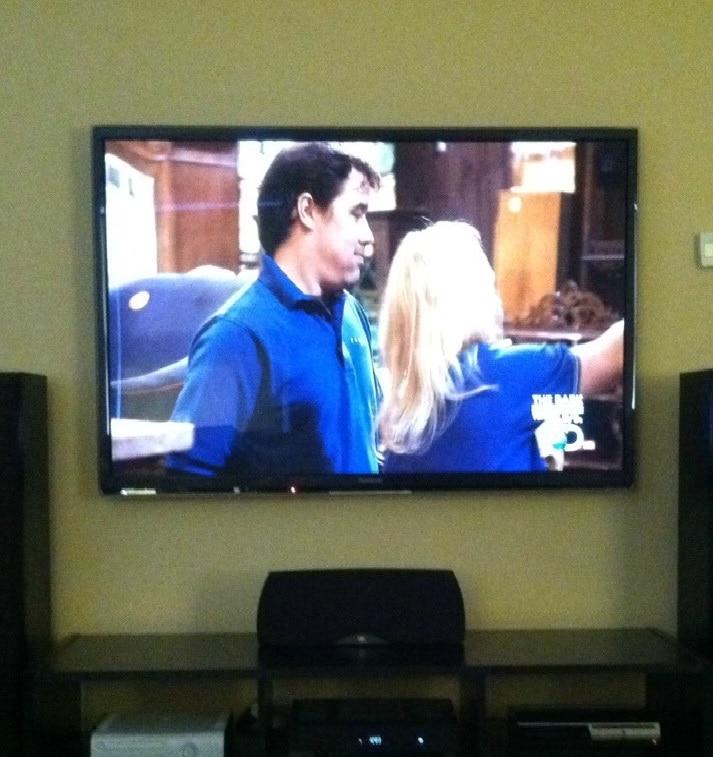 living room 60inch TV!