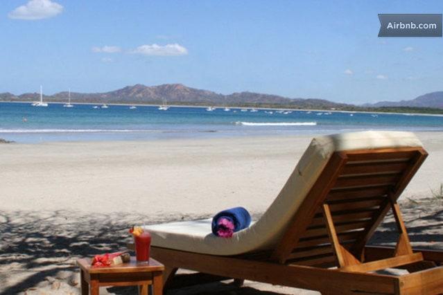 Relax on beautiful playa Tamarindo