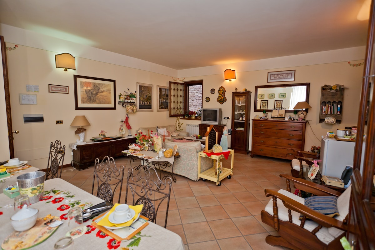 Single room in the best B&B Assisi