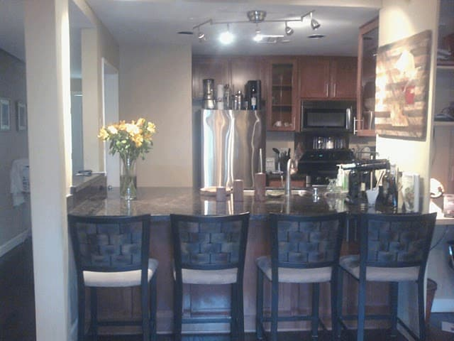 Fully Loaded Kitchen w/ Granite Bar