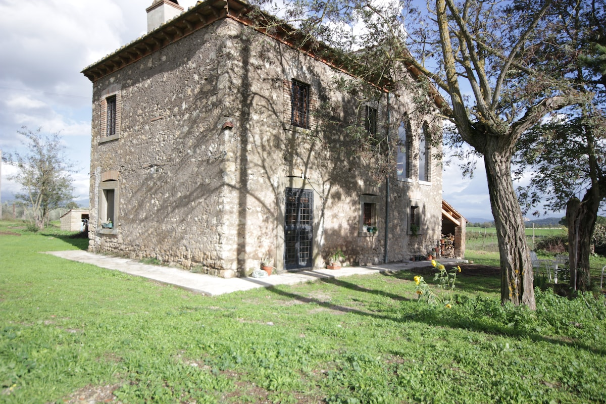 Traditional Stonehouse in Tuscia