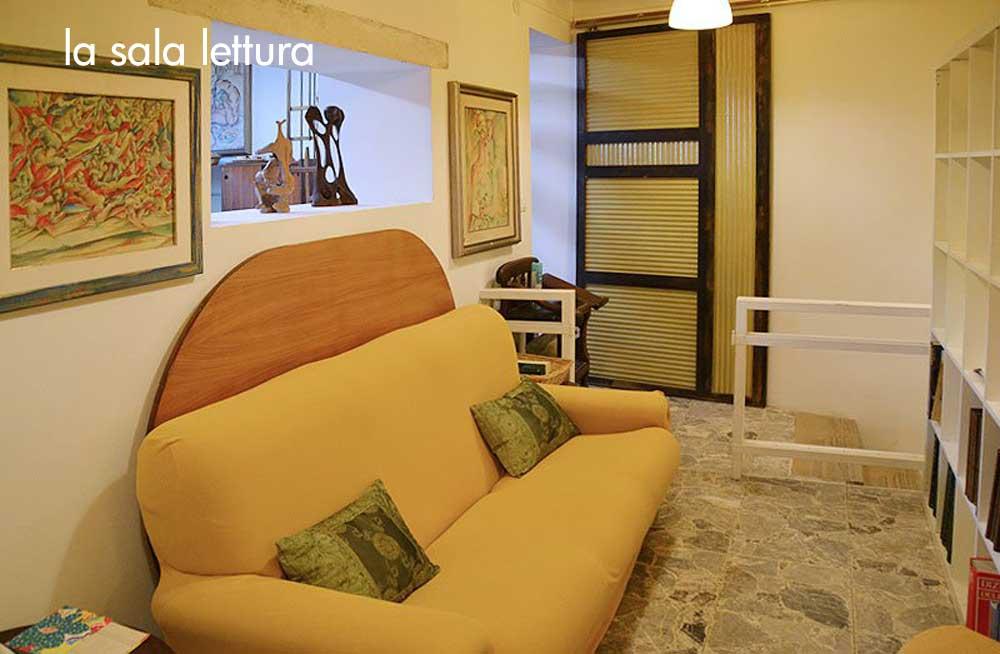 the reading room - la saletta lettura