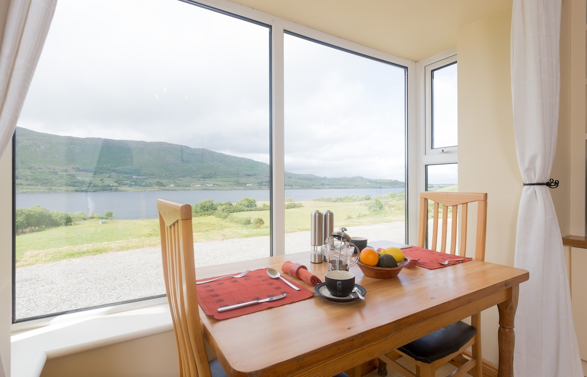 Room on beautiful Lough Mask