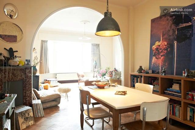 dining room + living room