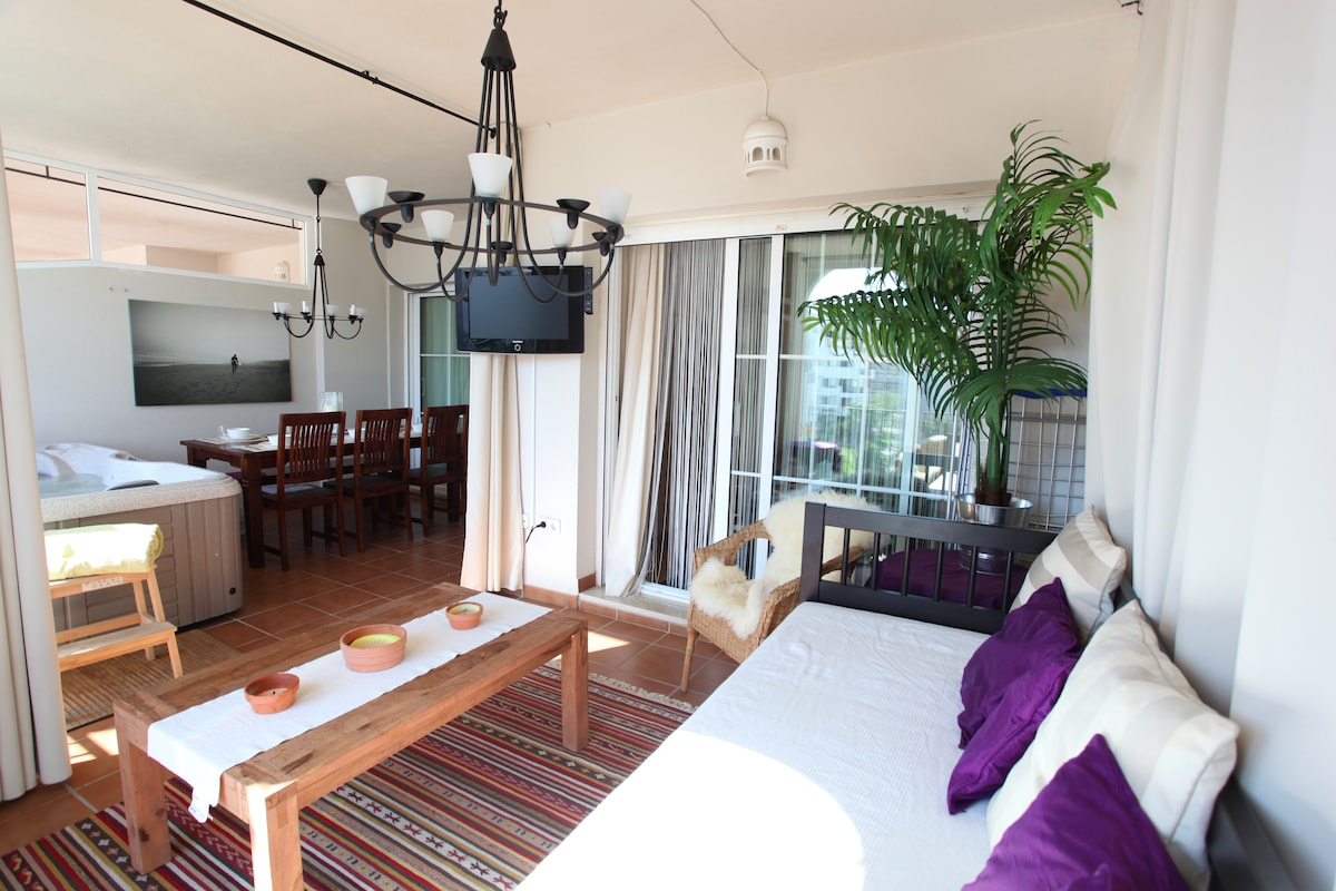 Mijas Costa 3beds with Private Spa!