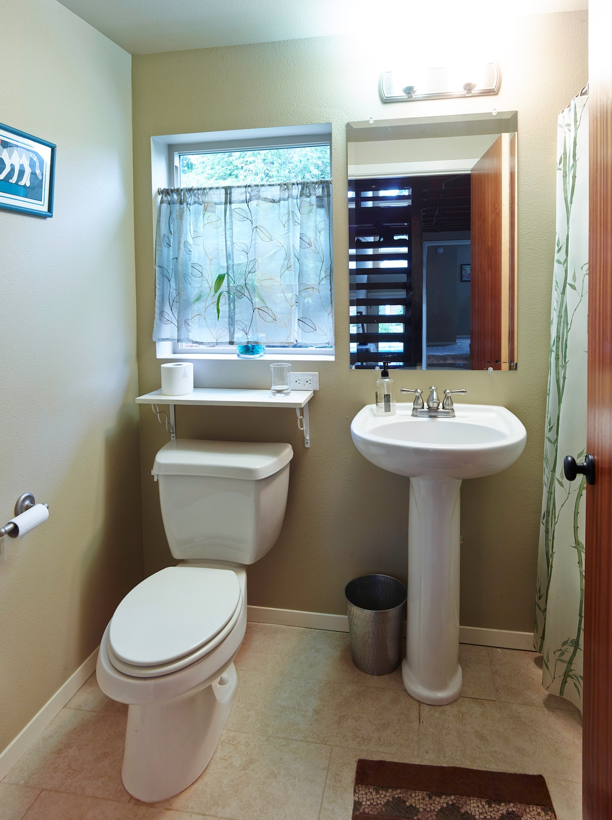 your very own bathroom!