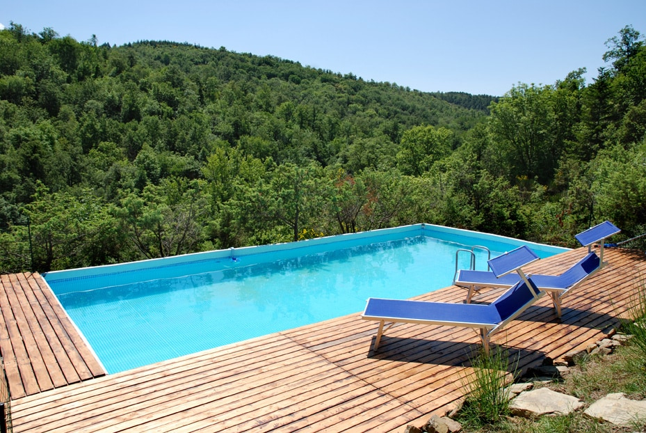 Green relaxation pool