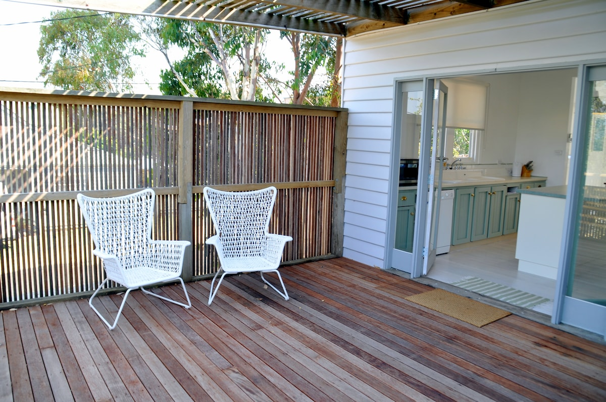 Enjoy relaxing out of the front deck