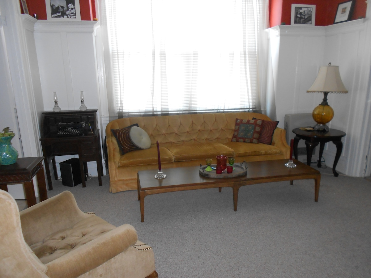 Sunny 1BR Apt in Mission/Noe area