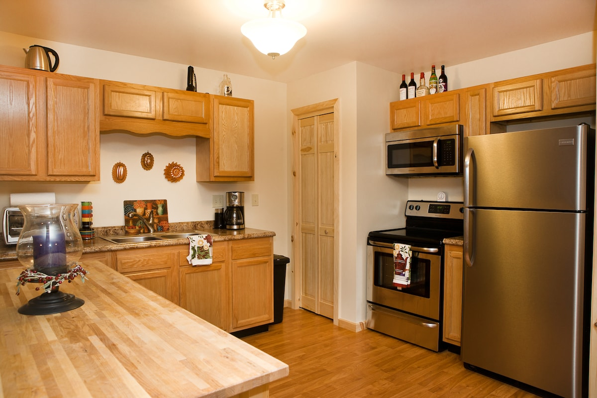 Unit B:  This is the kitchen.