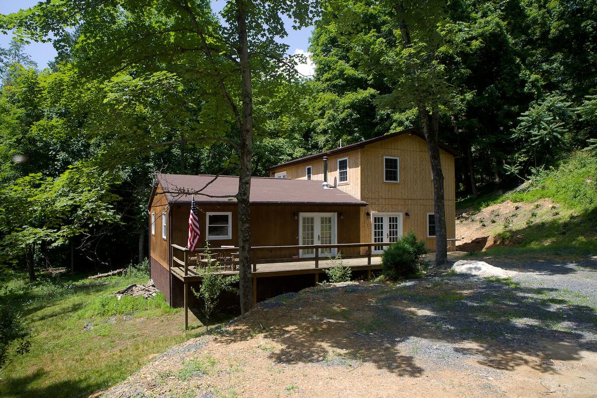 Lost River WV 5-br 4-ba cabin (A&B)