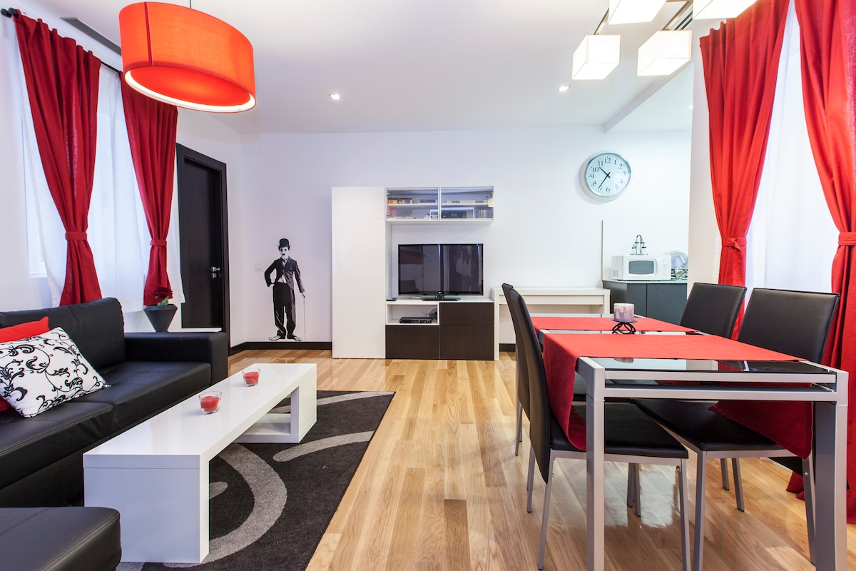 Velarde Trendy, 4 people, 1 bedroom