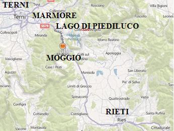 Localizzazione del sito in mappa.