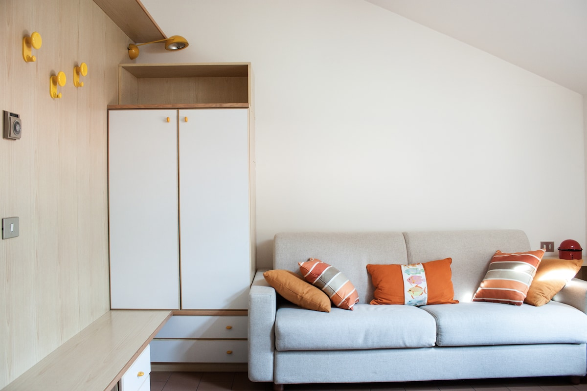 Cozy flat in Lecco on the Como Lake
