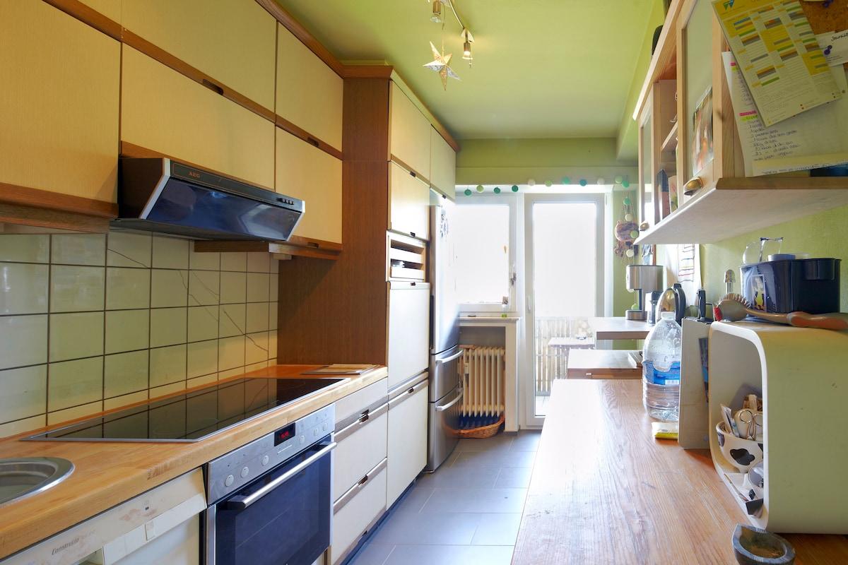 entire flat-last floor-lux city's