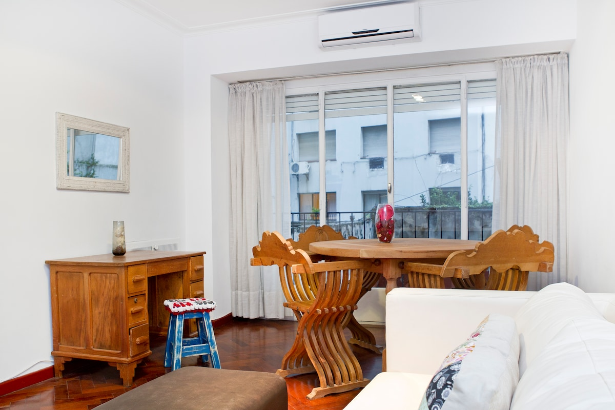SUNNY 3BR APARTMENT IN BARRIO NORTE