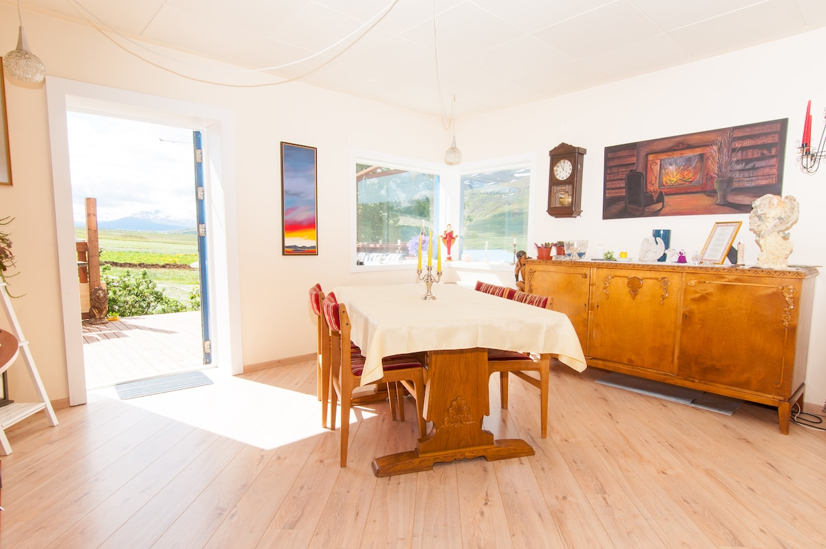 Dining room, here we serve the breakfast