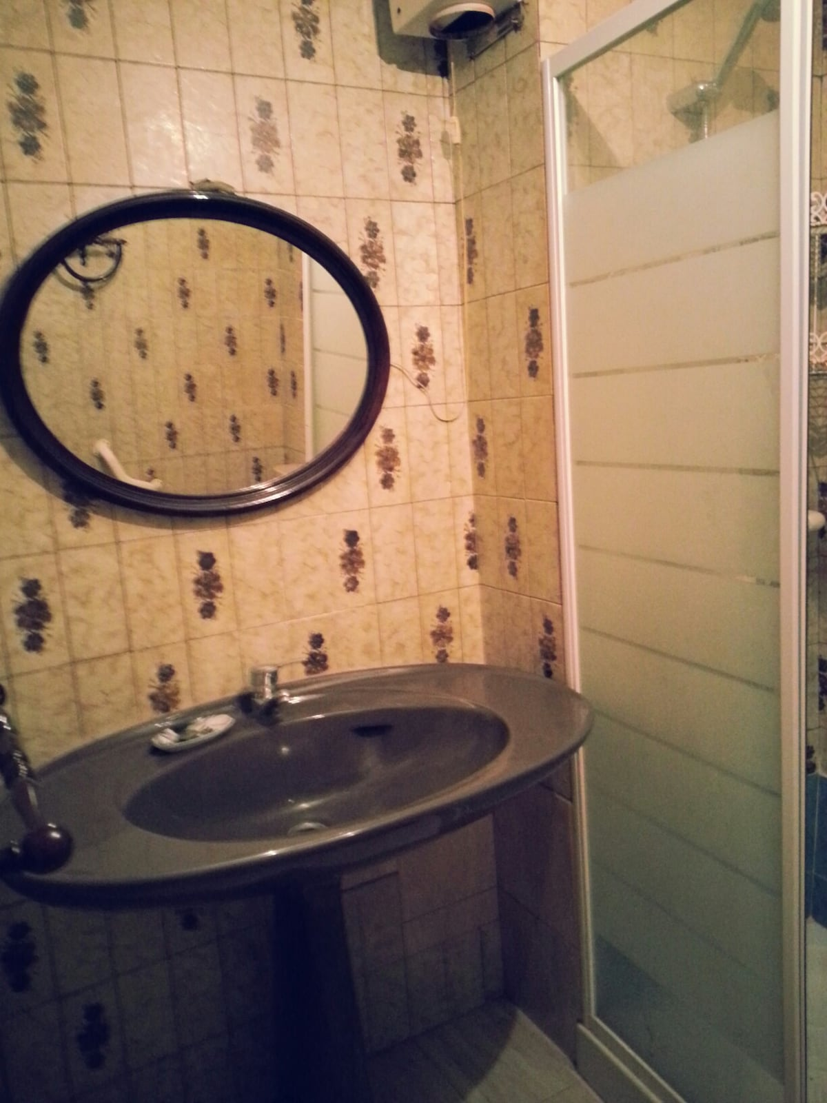 Bathroom with shower cabine