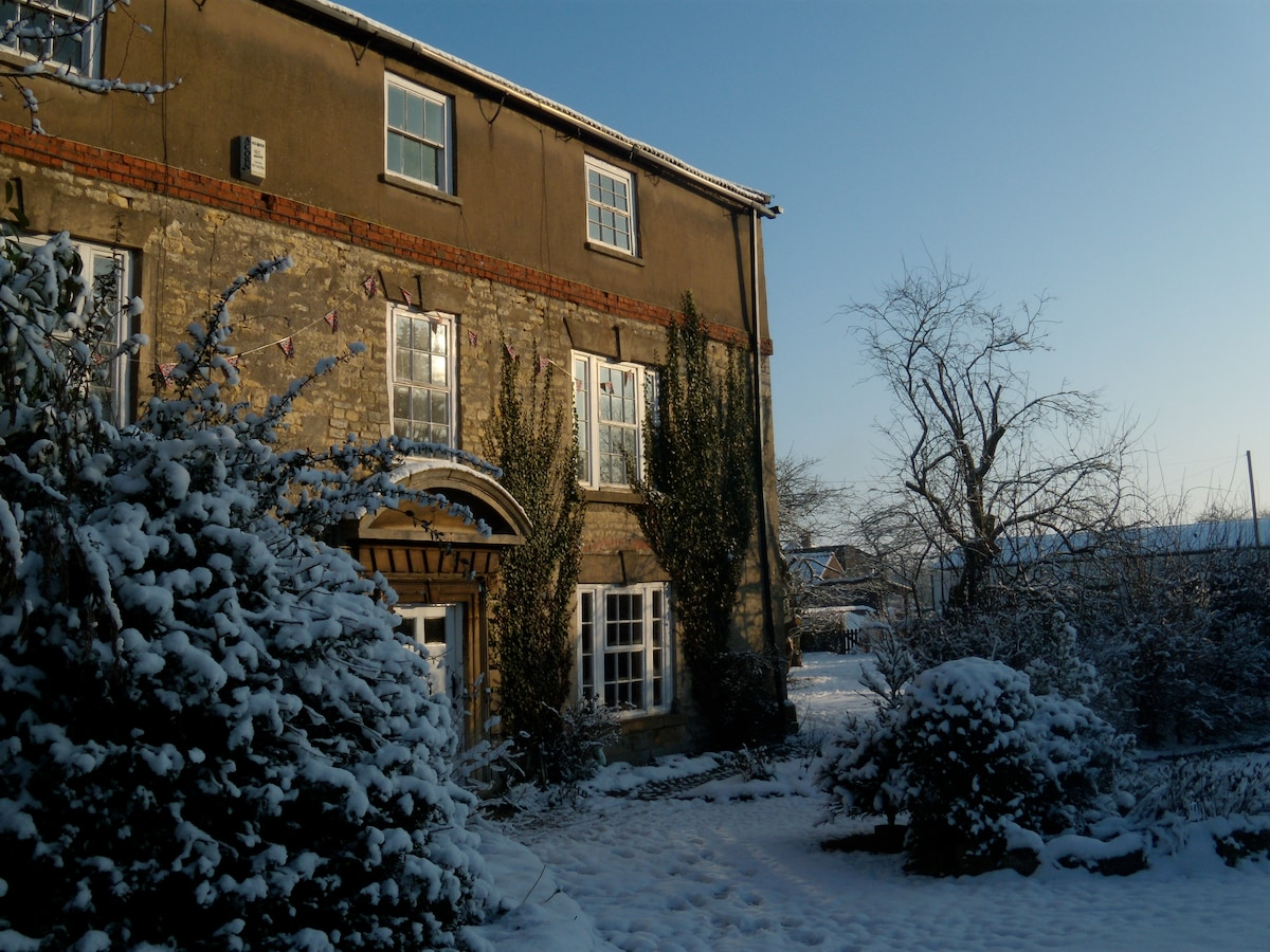 House frontage Winter