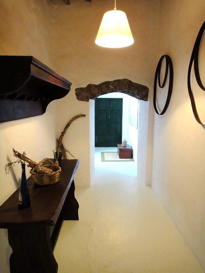 Finca Fajardo-Casa Malvasía-Pasillo interior