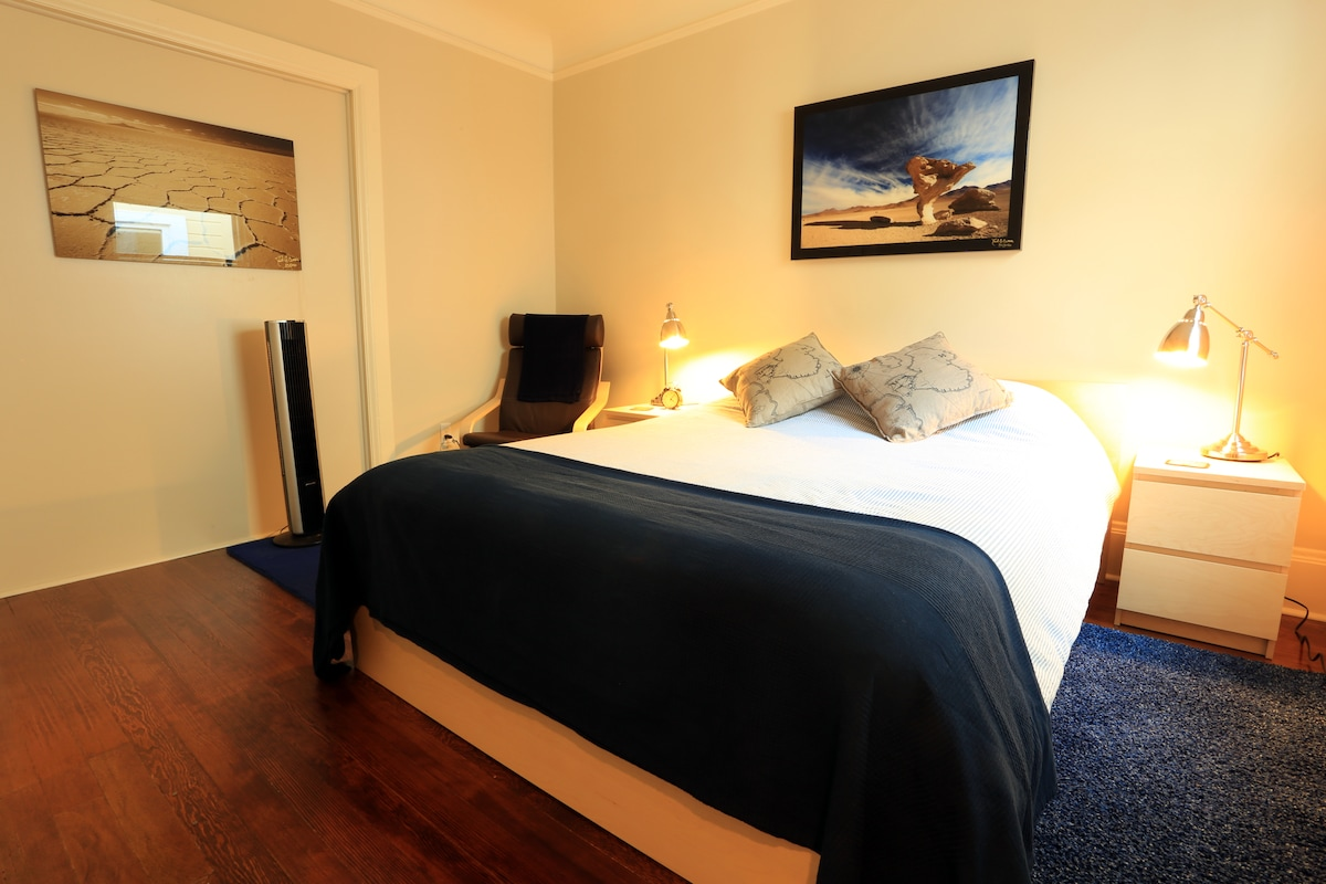 Amazing SoMa Victorian! Blue Room