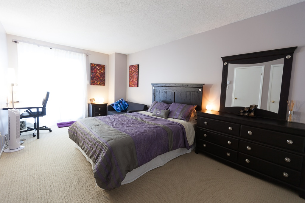 Big, beautiful master bedroom - just for you! (Not exactly as pictured, but fairly close.)