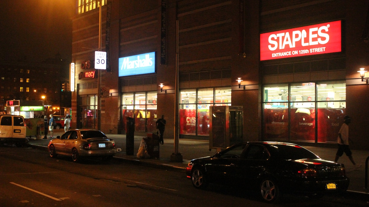 You are steps away from Staples, Marshalls, and CVS Pharmacy
