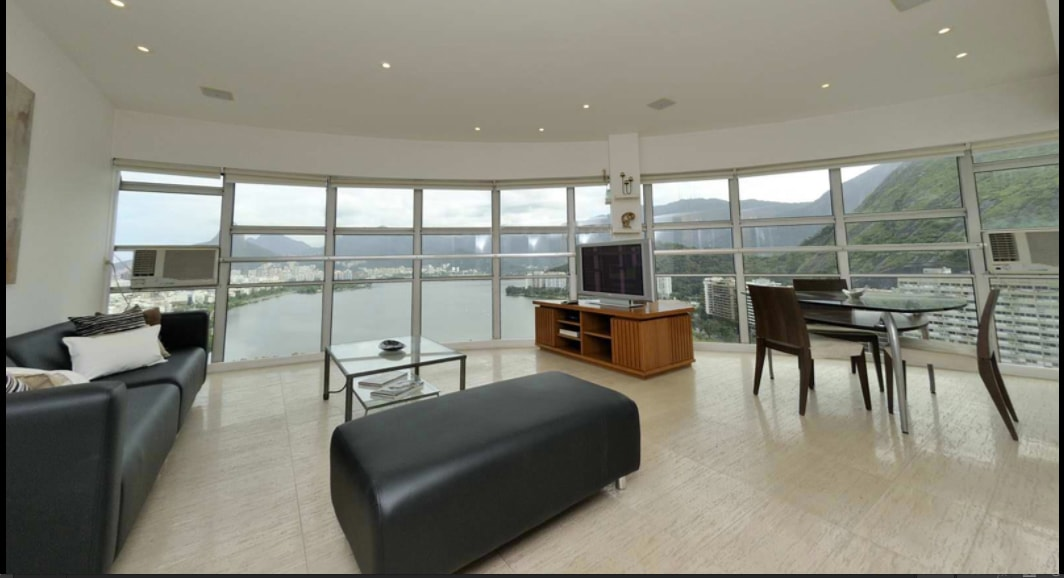 Lagoa, panoramic view w/ design