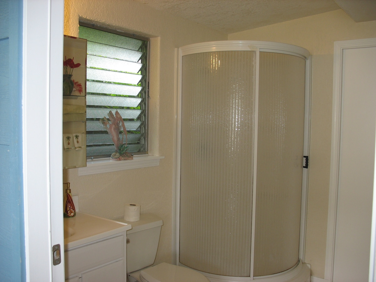 View of the inside of the bathroom