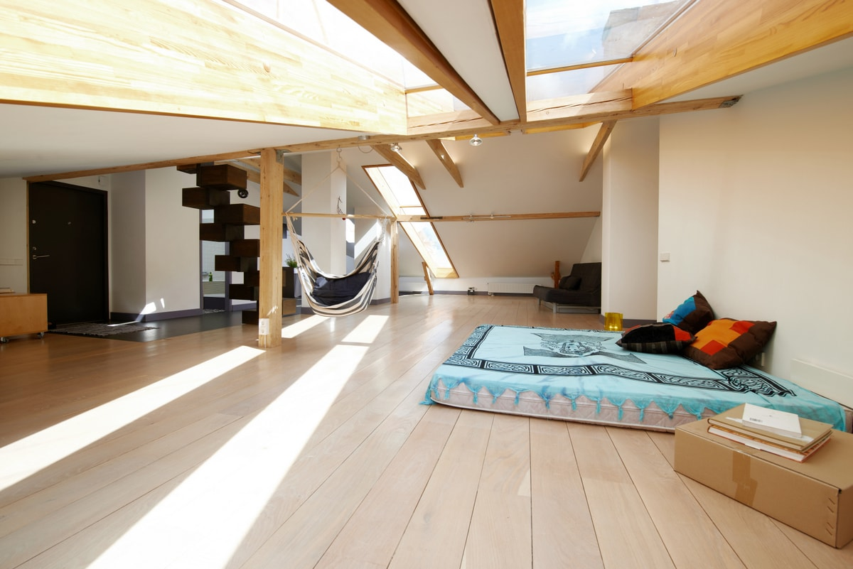 Loft in Art-Nouveau district, 2 BRs
