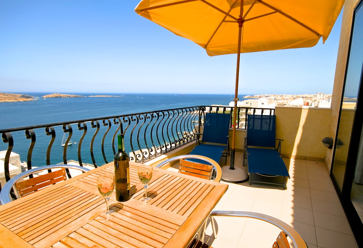 Penthouse in St Paul's Bay Malta