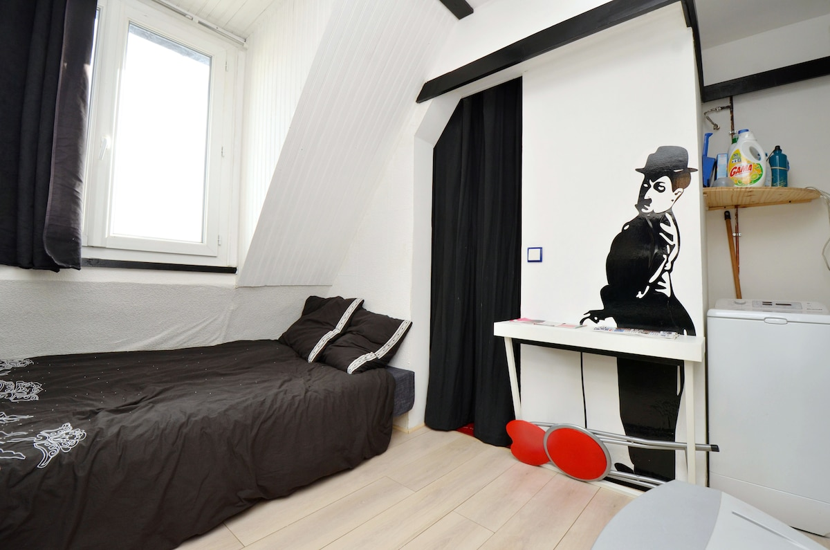 charlie chaplin will be your friend during your trip in paris :-)