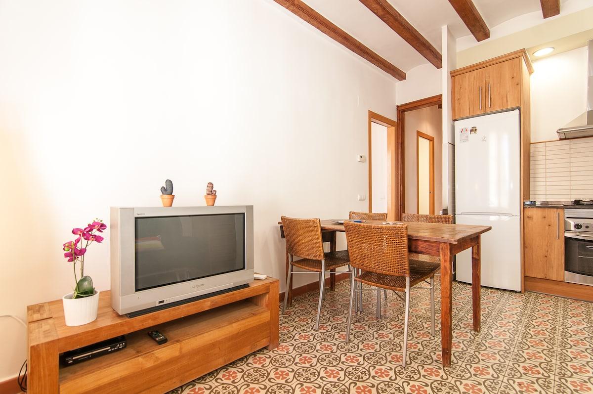 Cozy apartment in the ❤ of Gracia