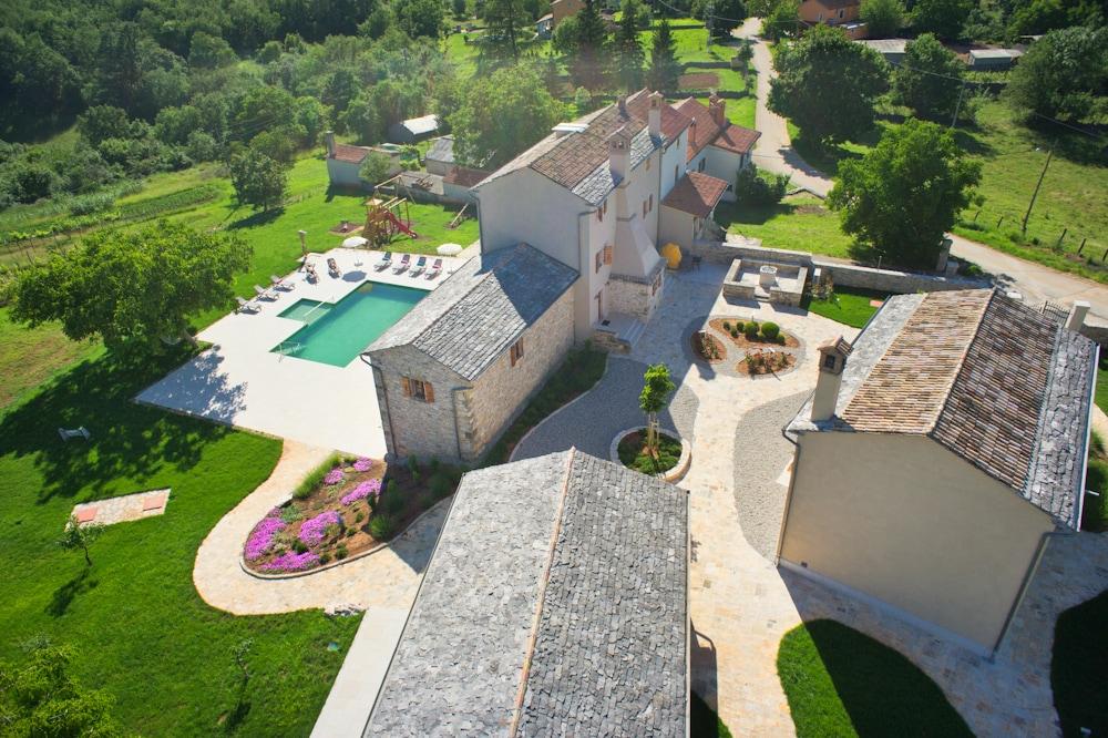 Villa Poropati, Groznjan, Istria - Panoramic view