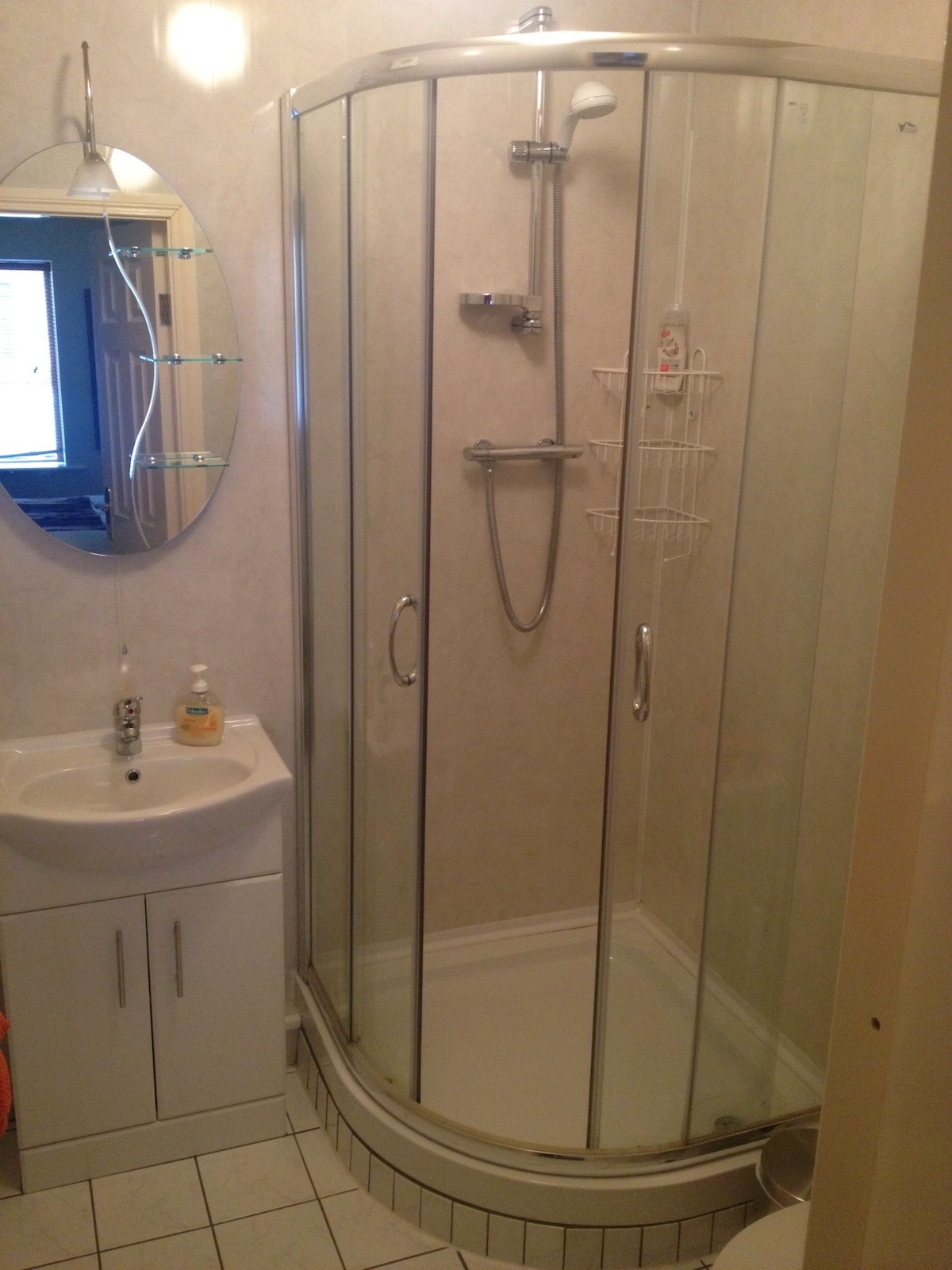 Ensuite bathroom with new fittings